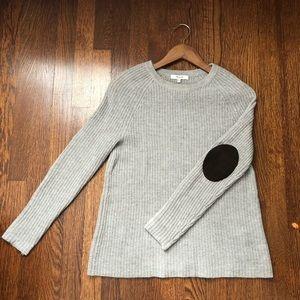 Madewell XS gray Merino wool sweater